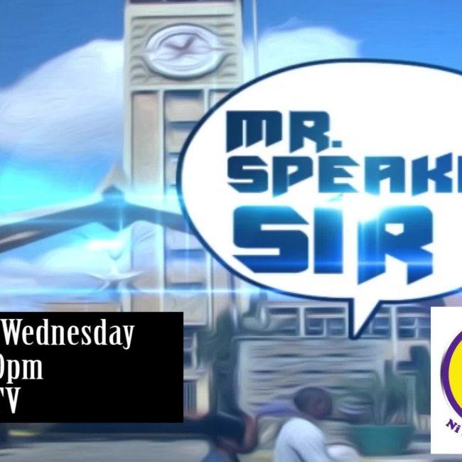 Mr Speaker Sir